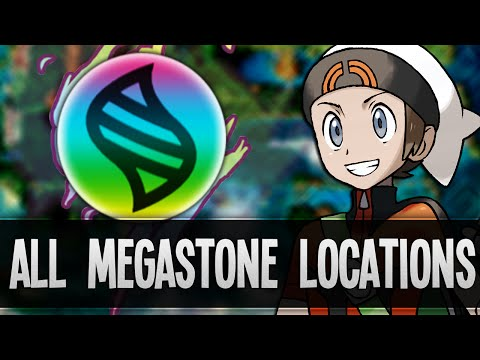 How & Where to catch/get - All 48 Megastones Locations in Pokemon Omega Ruby & Alpha Sapphire