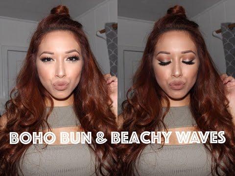 Boho Bun & Beachy Waves