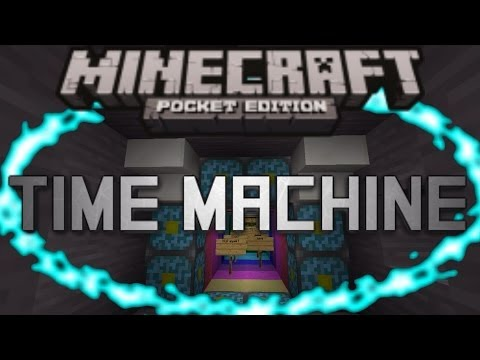 TIME MACHINE- Minecraft Pocket Edition! (Adventure Map)