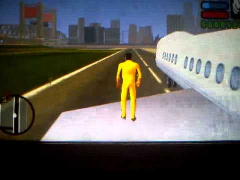 How to fly in gta lcs psp