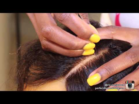 How To: Make Your Closure Look Natural |Perfect Distraction Hair Gallery|