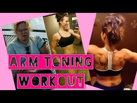 NO MORE ARM JIGGLES! TONED ARMS, LOSE ARM FAT, TOTAL WORKOUT!