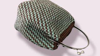 Tutorial Clic Clac Pradina Uncinetto Crochet Punto Prada Part 4