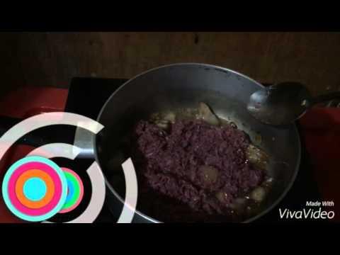 Ginisang Bagoong Alamang ( Sauteed Shrimp Paste) Recipe