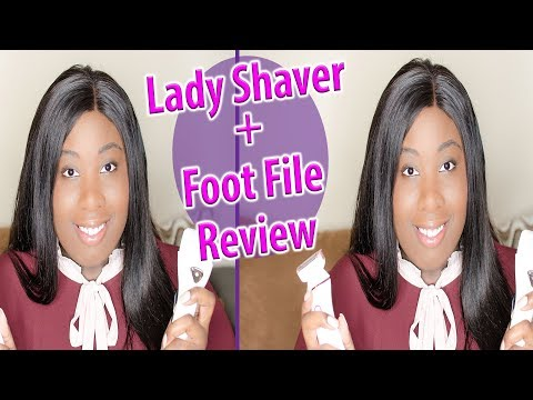 4 in 1 Lady Shaver & Electric Callus Remover Review