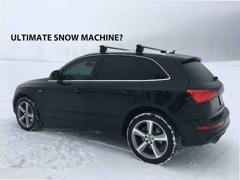 How's the Audi Q5 on Snow & Ice?