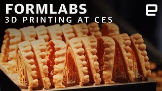 Formlabs at CES: 3D Printing Zombies and False Teeth