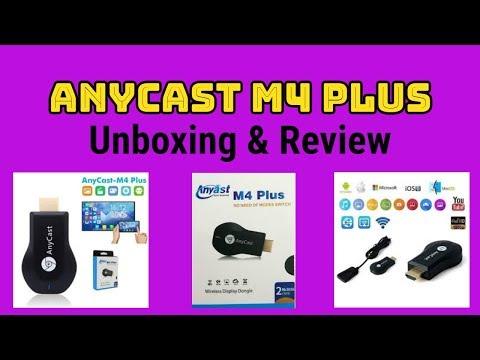 Anycast M2 Plus | Anycast M4 Plus| AnyCast | ChromeCast | M4