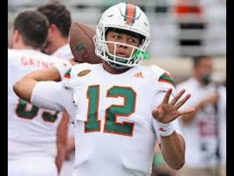Miami Hurricanes LIVE Sunday / Quarterback Battle, ACC Media Days, Recruiting, Running Back Carries