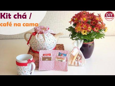 Kit chá: dia de café da manhã na cama! (DIY Tutorial)