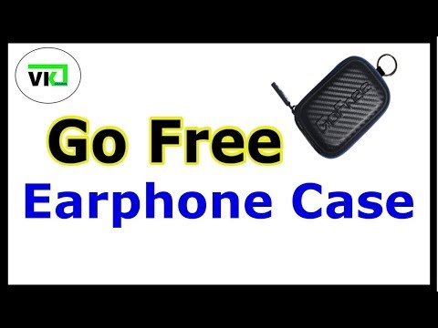 GoFree Earphone carrying case
