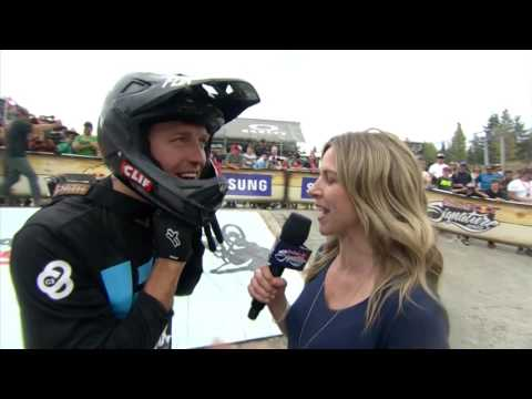 Crankworx 2016 - Brett Rheeder Wins Joyride