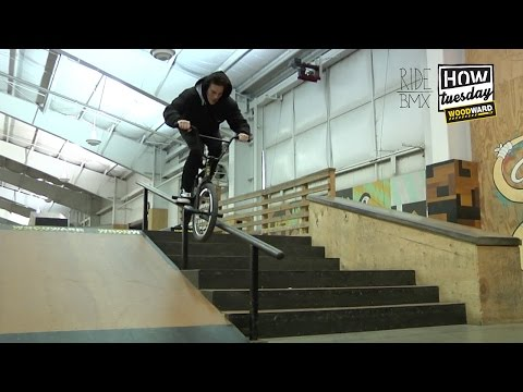 BMX: HOW-TO - Crooked Grinds w/ Travis Hughes
