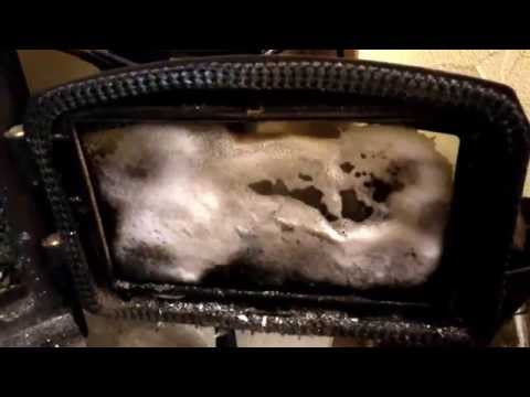 Clean Fireplace Doors Wood Stove Door Glass Best Cleaner