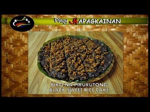 Pinoy Hapagkainan - BIKO NA PIRURUTONG