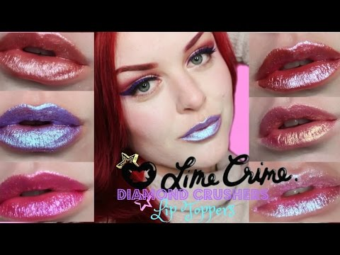 LimeCrime Diamond Crushers Lip Toppers | Swatches