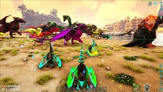 "ARK: Crystal Isles #31 - ""Spirit Wyvern"" Đại Chiến Chúa Tể Bóng Tối ""Nova the Destroyer"""