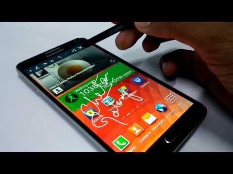 How to Capture Screenshots on Samsung Galaxy Note 3 - Different Ways