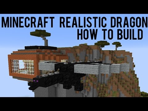 How To Build Dragon With Moving Mouth Minecraft 1.9