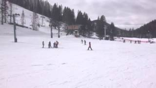 """Dani Esquiando """"No puedo"""""""