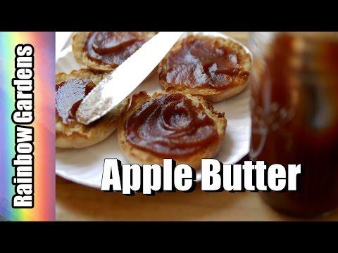Easy! Thick, Dark, Delicious Apple Butter in a Crock Pot - How to Make Apple Butter