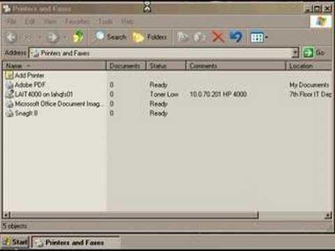 TechHelp - Disable Network Printer Notifications