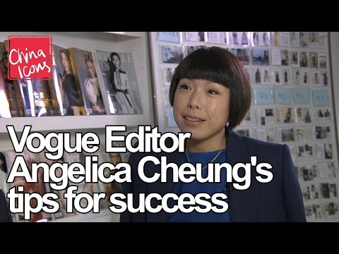 Vogue Editor Angelica Cheung's tips for success – China Icons
