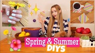 Spring & Summer DIYs
