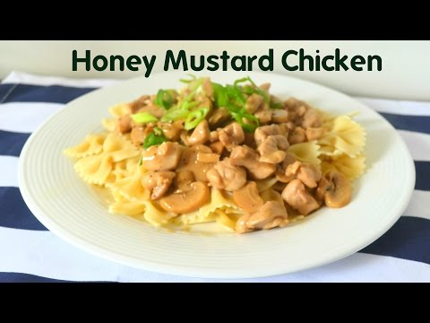 Honey Mustard Chicken with Pasta