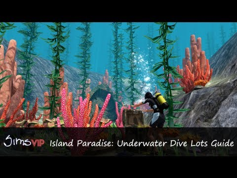 The Sims 3 Island Paradise: Underwater Dive Lots Guide