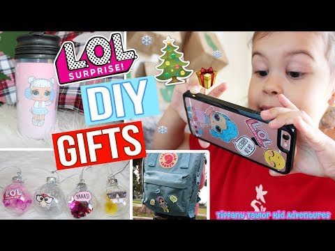 DIY LOL Surprise Dolls EASY Custom Christmas Gifts Affordable Holiday & Birthday Presents!