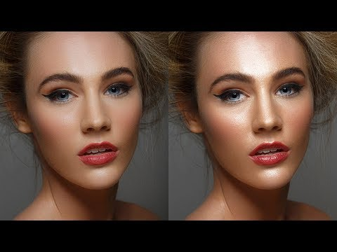 Simple Dodge & Burn Technique in Photoshop - Sculpting the Face by Dodging & Burning [Easy & Fast]