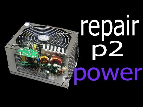 atx power supply repair, Part 2 computer loses power