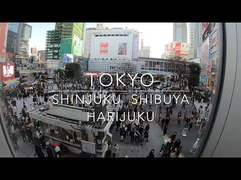TOKYO Shinjuku, Shibuya, Harajuku, Tokyo Skytree