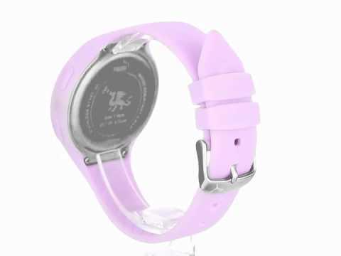PUMA Women's PU910801011 Loop Light Purple Digital Watch