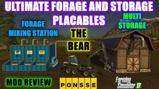 Farming Simulator 17 - Pig Feed & Forage Mixer Placeable