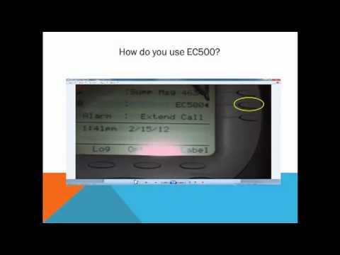 Avaya Series, Video 5   EC500