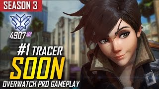 Overwatch ► SoOn 'Tracer's Father' (Rank #2 In The World) [S3 TOP 500]
