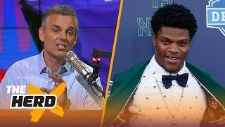 Colin Cowherd outlines why Lamar Jackson is Tim Tebow 2.0 | NFL | THE HERD