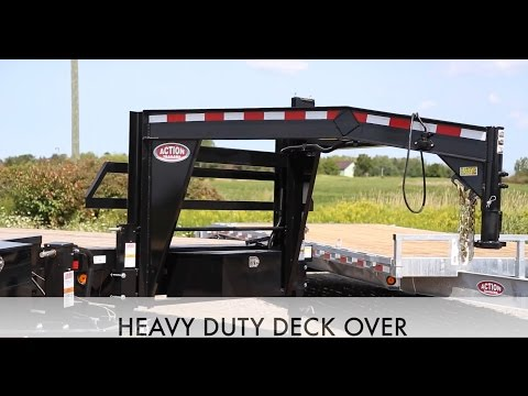 Heavy Duty Deck Over Trailers - ACTION  TRAILER  SALES