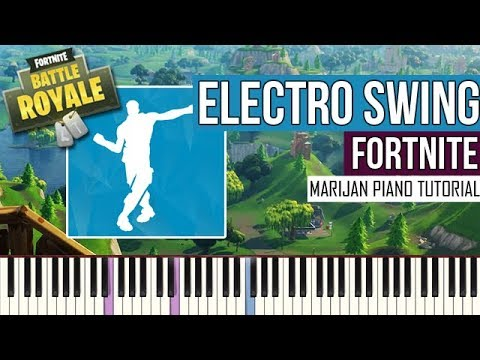 How To Play: Fortnite - Electro Swing | Piano Tutorial