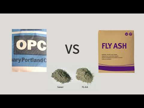 Ordinary OPC cement Vs Fly Ash – House Construction