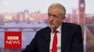 Jeremy Corbyn on Andrew Marr Show (FULL Interview)- BBC News