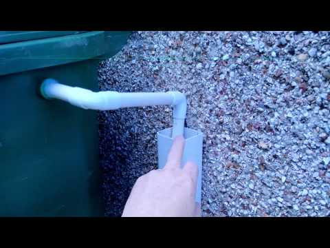 How to Convert your Wheelie bin into a Water Butt
