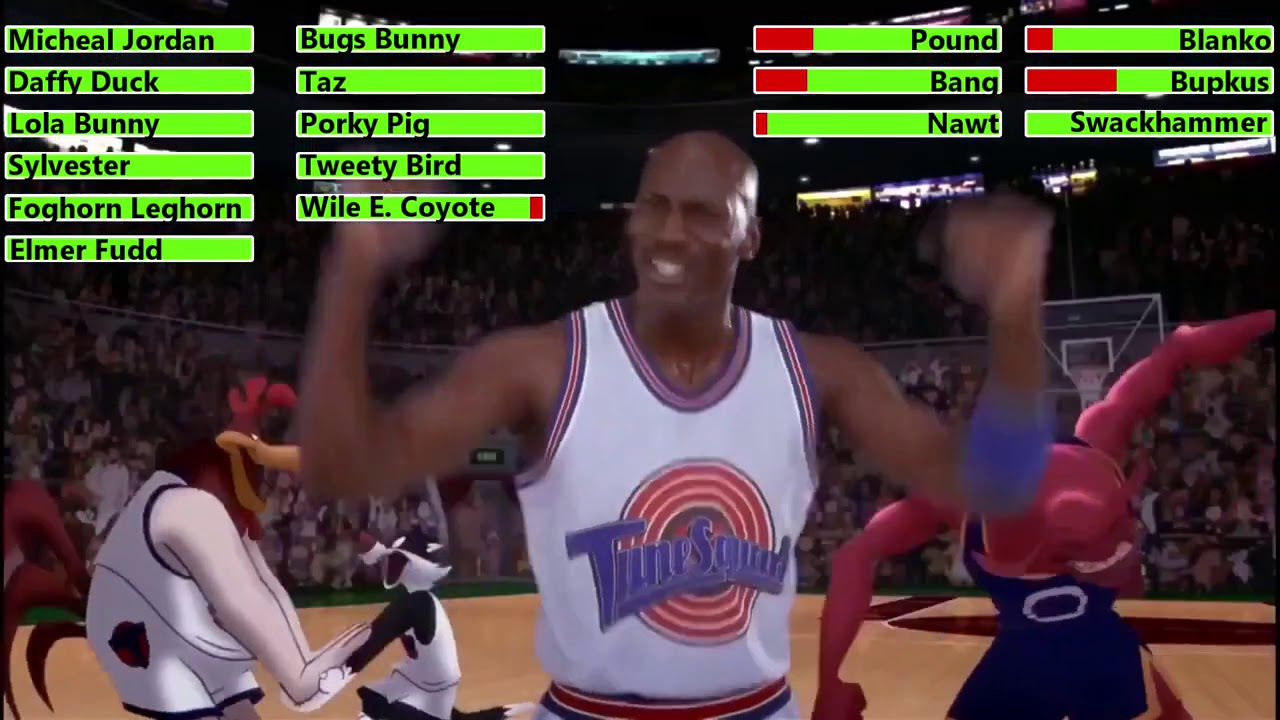 Space Jam (1996) Last 3 Games with healthbars (100K Subscriber Special)