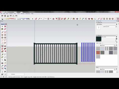 SketchUp How to make component and copy to other drawing? Tutorial for beginners