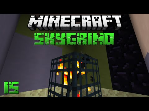 ENDERMAN spawner! - Minecraft Skygrind : #15