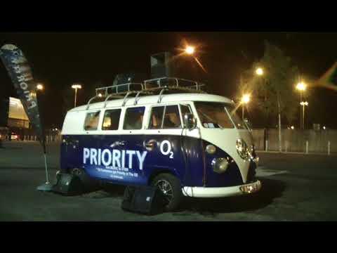 Depeche Mode music bus  /Dublin, Ireland/ 09.11.2013 ( O2 arena)
