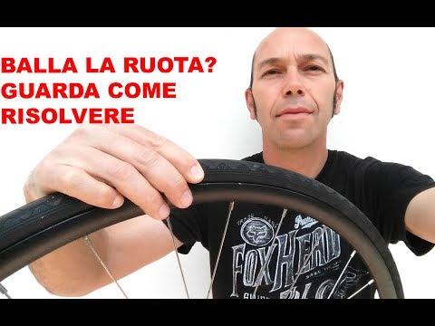 COME TOGLIERE IL GIOCO ALLA RUOTA DELLA BICI - IL VINCITORE DELLA ACTION CAM!