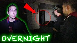 Scariest night of our lives. | Queen Mary Room B340